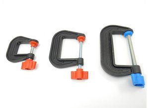 G Clamp 25mm, 50mm, 75mm