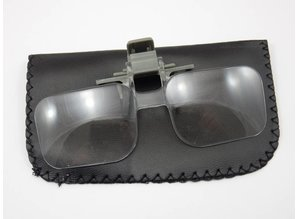 Magnifying glasses clip on - 2x magnification