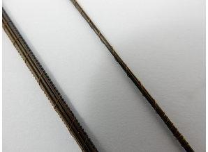 Laubsäge blätter 12 stuck - Holz Kunstoff Metall