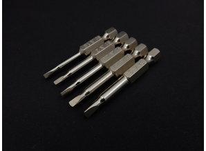 Triangle screwdriver bit set 1.8mm / 2.0mm / 2.3mm /2.7mm /3.0mm