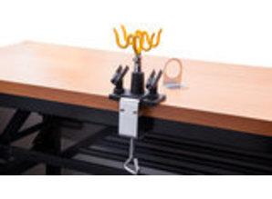 Airbrush houder klemmodel