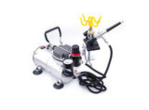 Airbrush Holder model with clamp