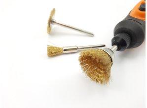 Brass brush set - 3 pcs.
