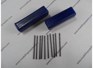Mini Bohrer 10 st. 0.3-3.0 mm