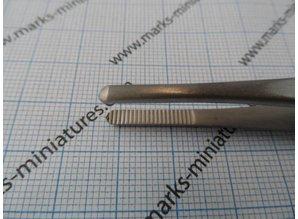 Universal Pinzette Runde Spitzen - Rostfrei Stahl