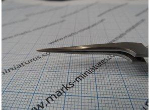 Kreuz Pinzette gerade schmale Spitzen - Rostfrei Stahl
