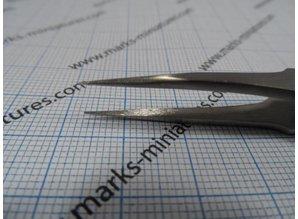 Tweezer straight narrow Tips - Stainless Steel / anti magnetic