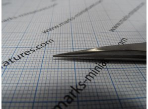 Pincet Recht smalle punt - RVS / antimagnetisch