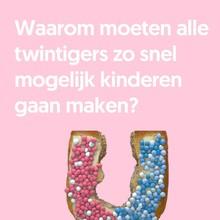 Jan Hindrik Ravesloot Waarom moeten alle twintigers zo snel mogelijk kinderen gaan maken?