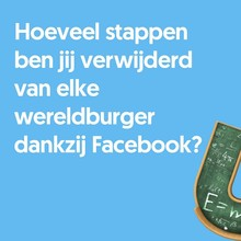 Johan van Leeuwaarden Hoeveel stappen ben jij verwijderd van elke wereldburger dankzij Facebook?