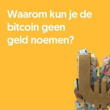 Anna Berlee Waarom kun je de bitcoin geen geld noemen?