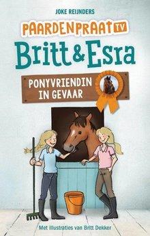 Joke Reijnders Ponyvriendin in gevaar - PaardenpraatTV Britt & Esra