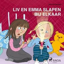 Line Kyed Knudsen Liv en Emma slapen bij elkaar