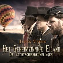 Jules Verne Het geheimzinnige eiland: de luchtschipbreukelingen