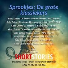 Gebroeders Grimm Sprookjes - De grote klassiekers