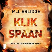 M.J. Arlidge Klikspaan - Wie zal de volgende zijn?