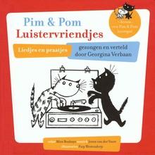 Mies Bouhuys Pim en Pom Luistervriendjes - Liedjes en praatjes + bonus: een Pim & Pom hoorspel