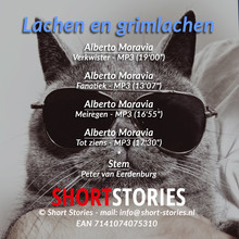 Alberto Moravia Lachen en grimlachen