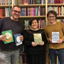 De Grote Vriendelijke Podcast De Grote Vriendelijke Podcast - Laura Watkinson (m.m.v. Tonke Dragt, Jan Terlouw en Annet Schaap) - Aflevering 7