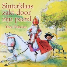 Thea Dubelaar Sinterklaas zakt door zijn paard