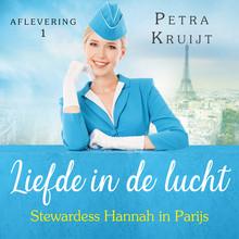 Petra Kruijt Stewardess Hannah in Parijs - Liefde in de lucht 1