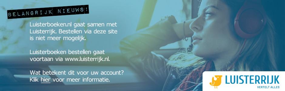 Luisterboeken.nl gaat samen met Luisterrijk