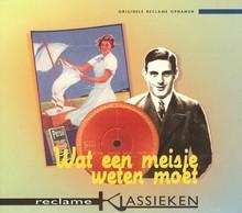 Theater Instituut Nederland Wat een meisje weten moet - Reclame klassieken