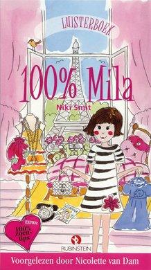 Niki Smit 100 procent Mila - 100% Mila - Voor meiden die van shoppen, zoenen & rockers houden