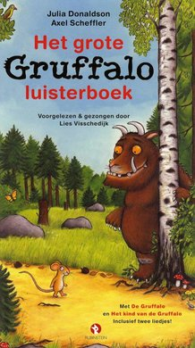 Julia Donaldson Het grote Gruffalo luisterboek - Met De Gruffalo en Het kind van de Gruffalo