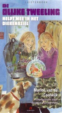 Marion van de Coolwijk De Olijke Tweeling helpt mee in het dierenasiel