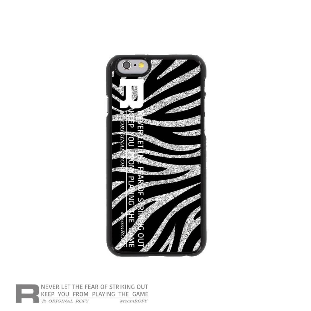 ROFY iPhone HOESJE - MODERN ZEBRA