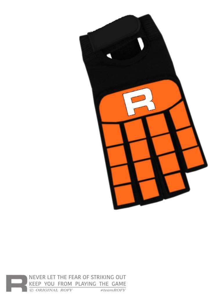 ROFY Classic Line Orange Handschoen