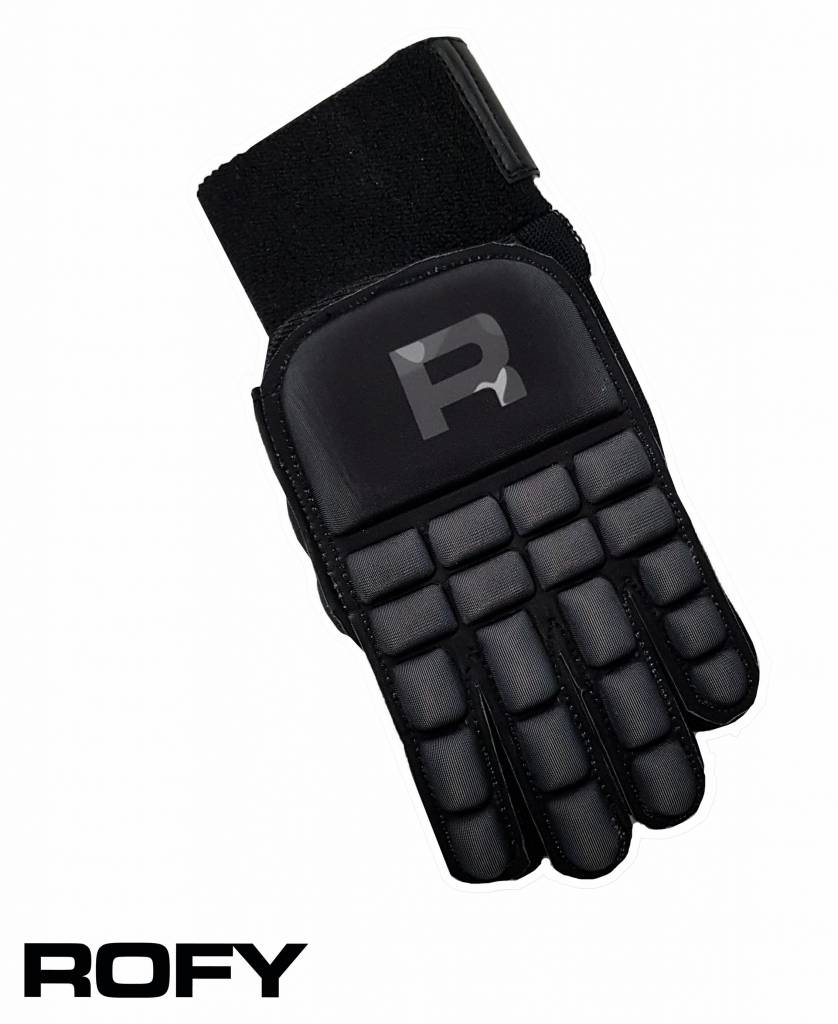 ROFY Full Finger Zaalhandschoen Black S.