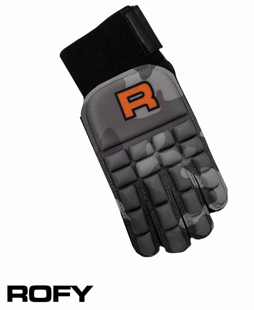 ROFY Full Finger Indoor Glove Camo Grey
