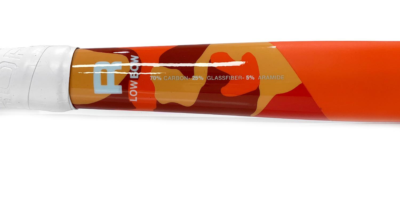 ROFY Classic Orange 70% Carbon Low Bow