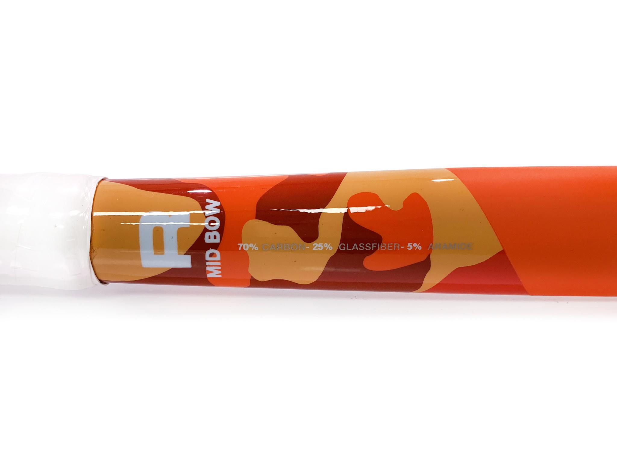 ROFY Classic Orange 70% Carbon Mid Bow