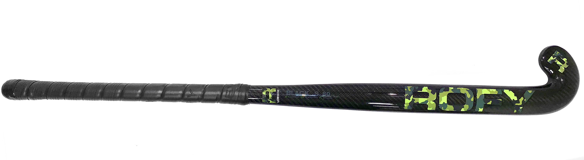 ROFY Black S. 80% Carbon Low Bow