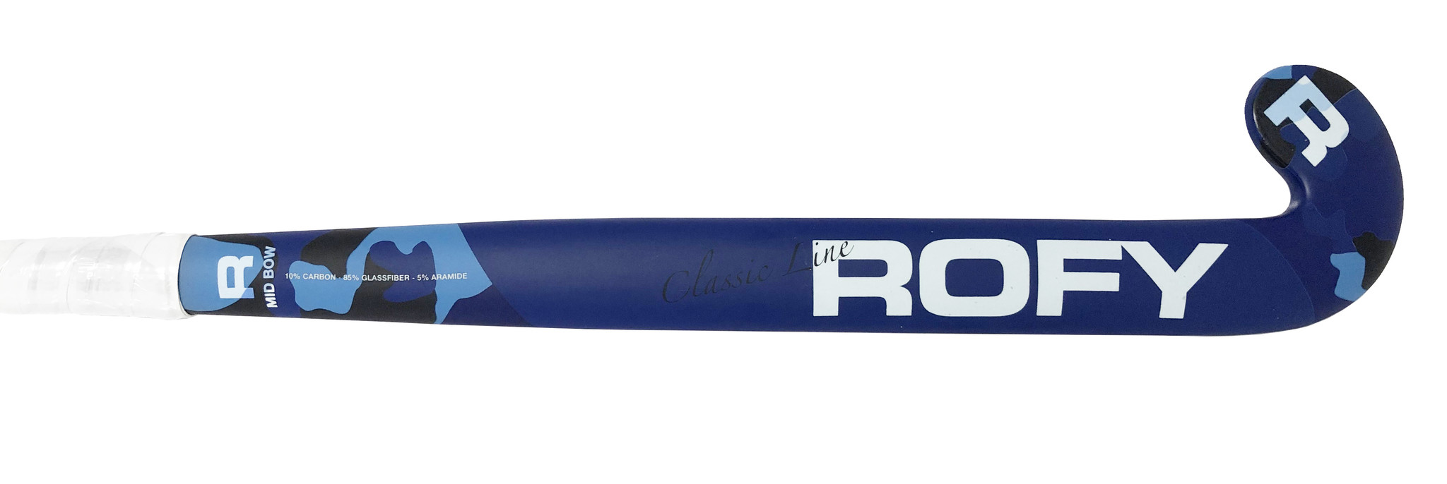 ROFY Classic Blue 10% Carbon Mid Bow  Indoor