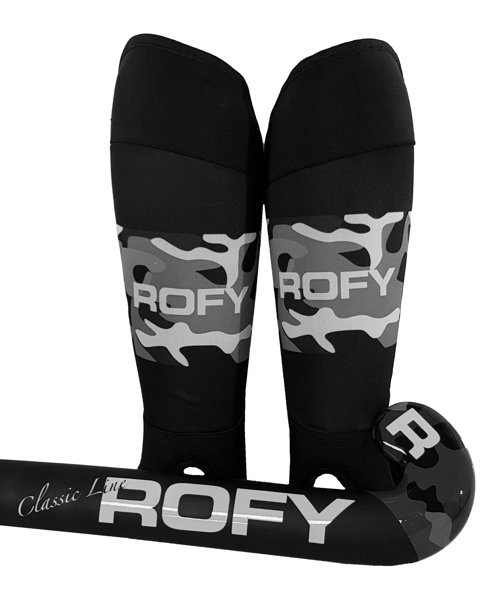 ROFY CAMO SHINGUARD - WASHABLE