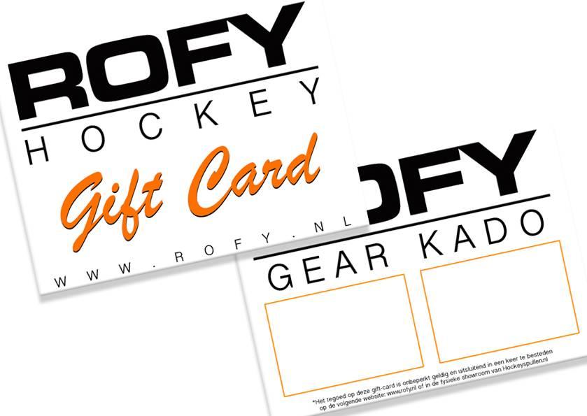ROFY HOCKEY GEAR GIFT (Gift Card)