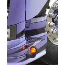 12 LED werklamp met kunststof behuizing