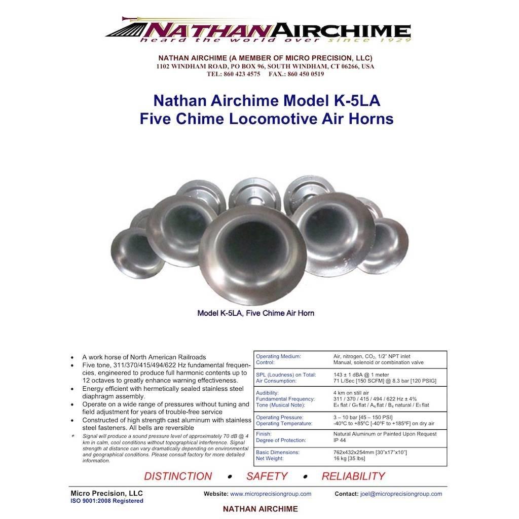 Originele Nathan Airchime K-5LA