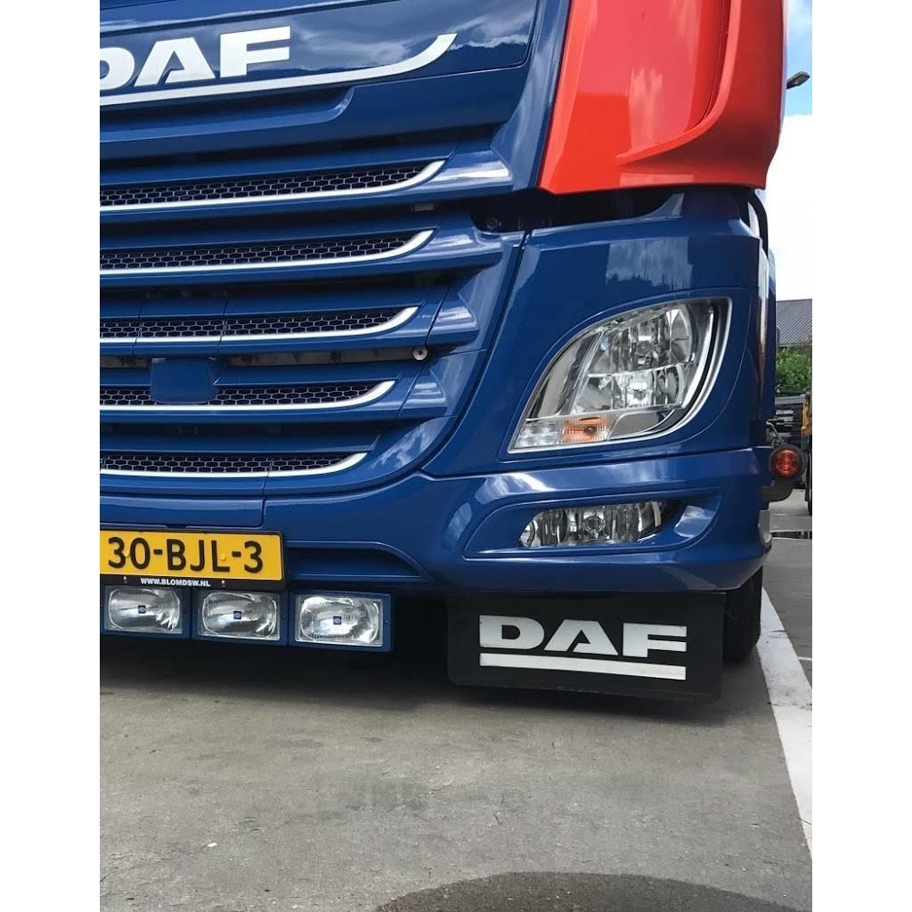 RVS Spatlapsteunen DAF XF Euro 6