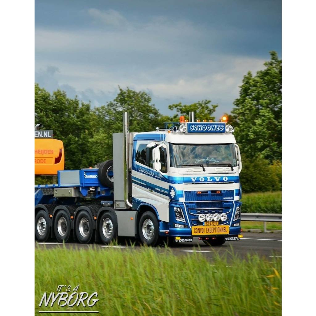 Fox Parts Zonneklep Volvo FH4/FH5 + FM5 28,5cm