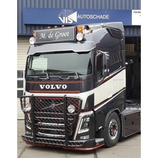 Fox Parts Zonneklep Volvo FH4 Custom 28,5cm