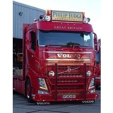 Frontplaat Volvo FH4 type 1