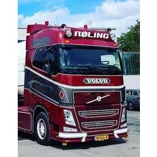 Frontplaat Volvo FH4 type 2 van deur tot deur