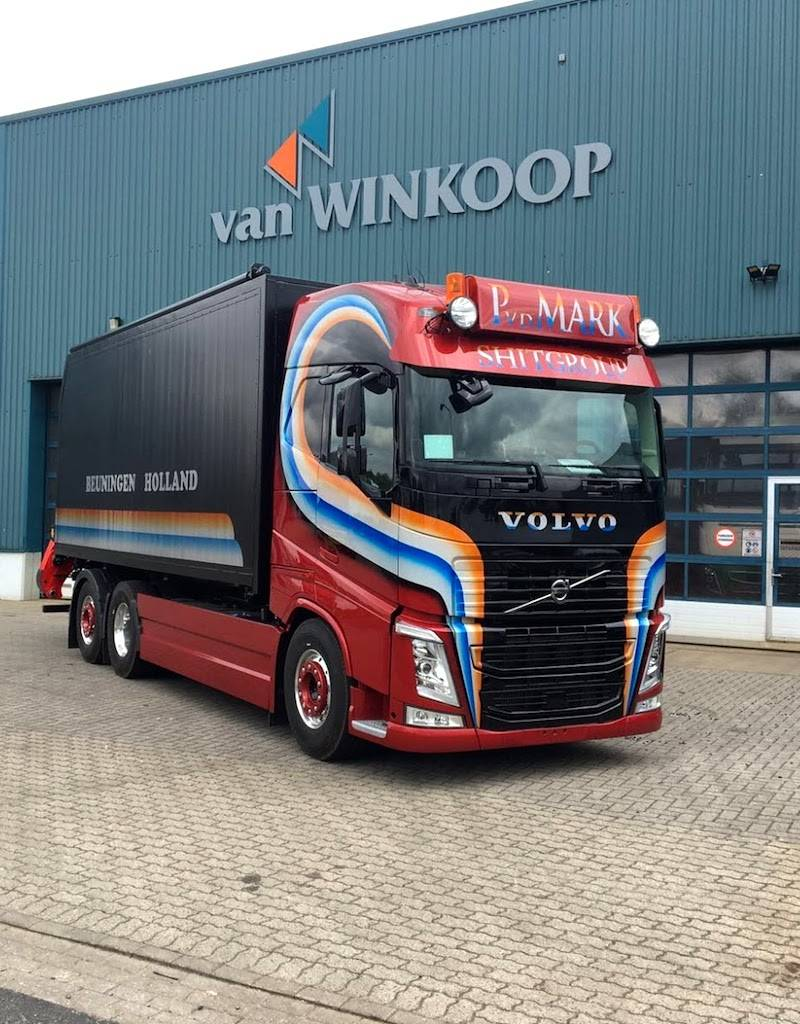 Volvo FH4 Frontplate type 2