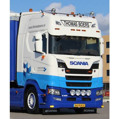Solarguard Zonneklep Scania NGS