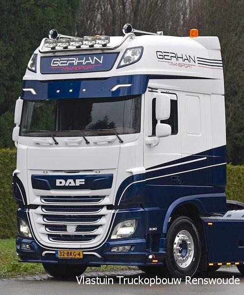 Daf XF Euro 6 Onderspoiler V type